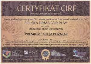 Polska Firma FAIR PLAY